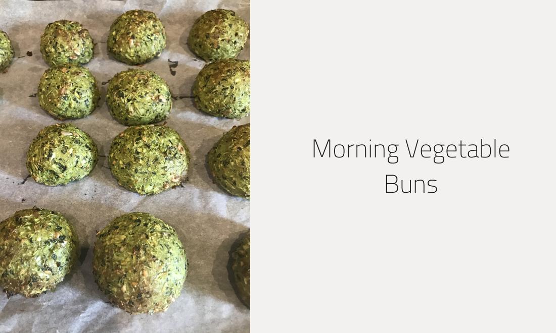 MORNING VEGETABLE BUNS