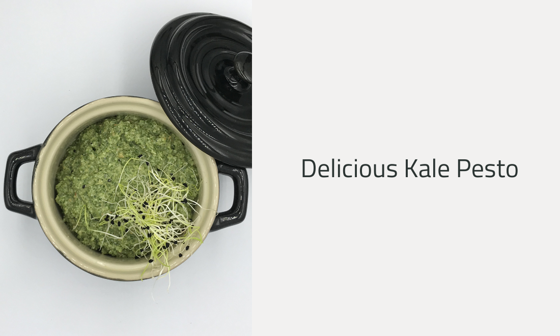 Delicious Kale Pesto