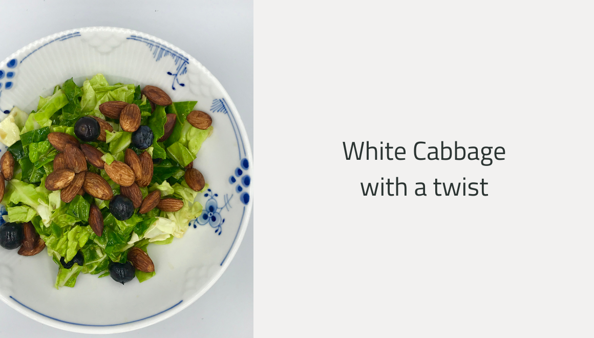 White Cabbage with a twist
